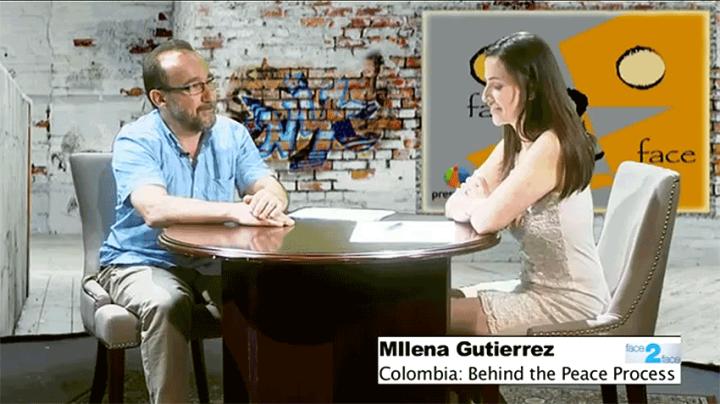Milena Gutierrez on Face 2 Face