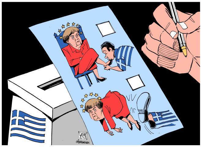 Grecia: la patada que nos levanta el alma en @ContinentesRH