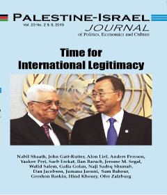 The Arab Peace Initiative and the International Community: Concerted Efforts for Its Implementation