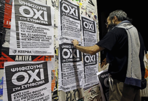 Our responsibility to vote 'NO' in the Greek referendum