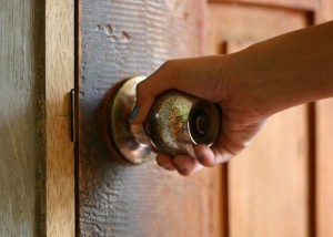 La porta aperta