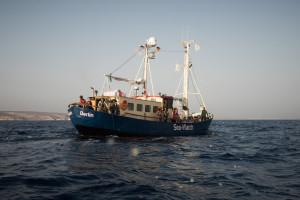 Seawatch rettet weitere Flüchtlingsboote