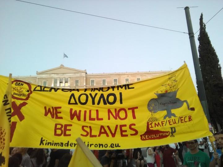 Reflexiones desde Grecia: La esperanza se fue *