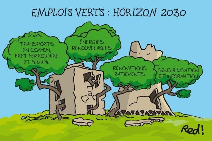 Plus d'un million d'emplois «écolos»  sont possibles d'ici 2030