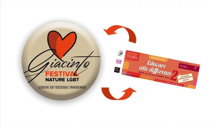 A Noto, l'1 e 2 agosto, Giacinto Festival Nature LGBT