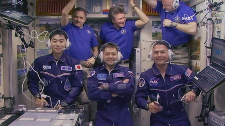 Sojus-Raumschiff sicher an ISS angedockt