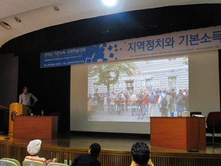 Internationaler Kongress zum Grundeinkommen in Korea