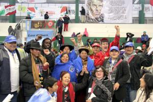 El Encuentro Mundial de Movimientos Populares comenzó en Santa Cruz, Bolivia.