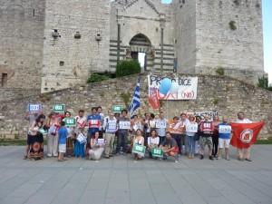 Ovunque in Italia si parla greco: #OXI