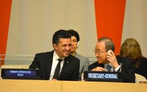 Llorenti: Bolivia rompe esquema especulativo y egoísta de «fondos buitre»