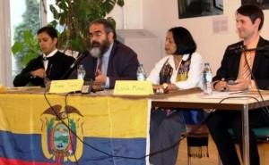 Öffentliche Debatte zu den gewalttätigen Demonstrationen in Ecuador