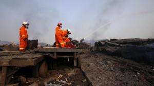 Cyanure, bilan croissant de morts, escroqueries – les conséquences des explosions en Chine