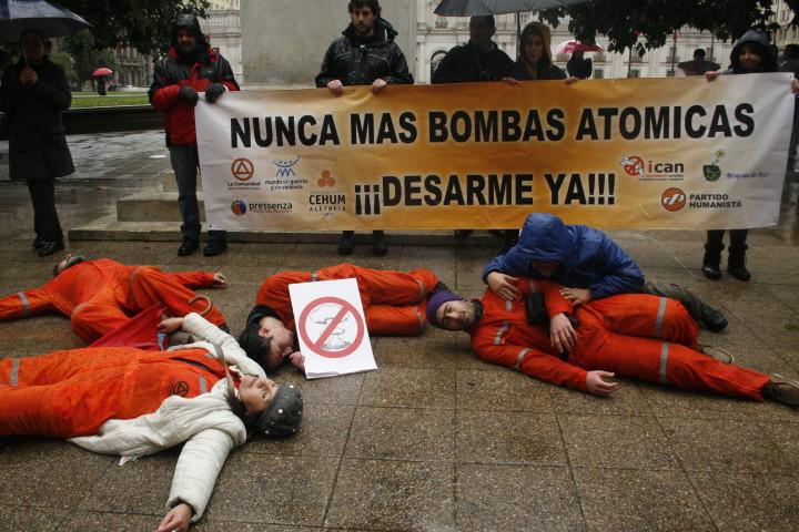 Nunca más bombas atómicas