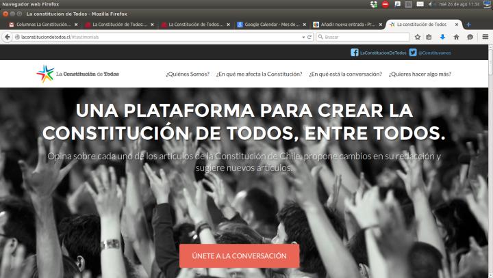 Chile: La Constitución de Todos