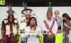 Deux histoires d'Amazonie lors du «Sommet des consciences pour le Climat»