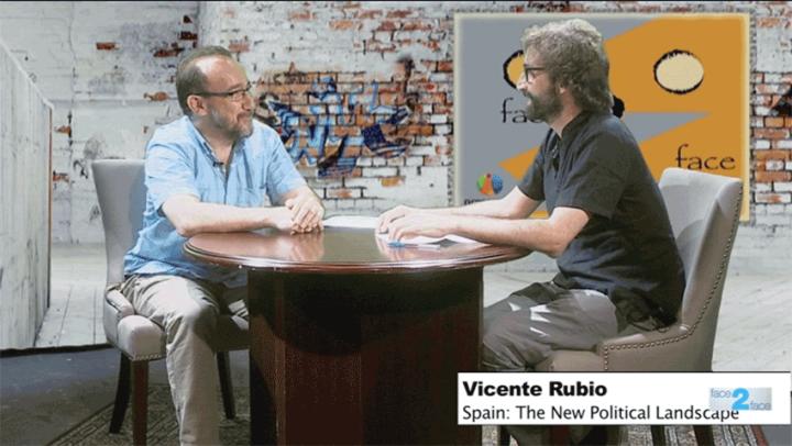 Vicente Rubio on Face 2 Face