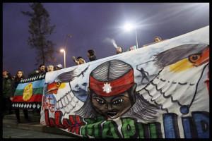 Chili : des heurts éclatent entre chauffeurs et indiens Mapuches