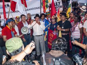 Marchantes llegan a Quito