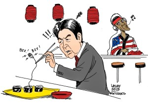 Die USA bespitzelt auch Japan