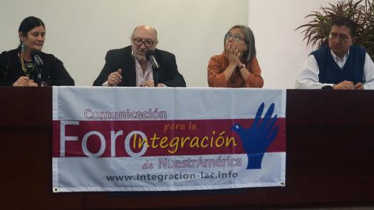 Defending regional integration, advancing democratization Forum on Communication for Integration of Our America