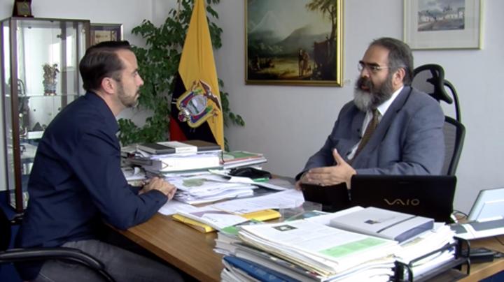 "Botschafter von Ecuador in Berlin: ""Gros der Bevölkerung hinter uns"""
