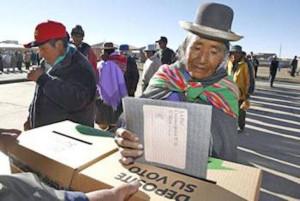 San Pedro de Totora y Charagua están a un paso de transformase en Autonomías Indígenas