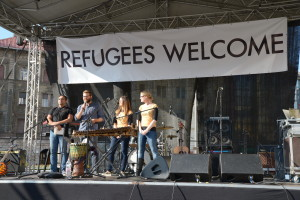 Budapest concert as part of European Day of Action for Refugees
