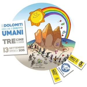 Amnesty: le Dolomiti abbracciano i Diritti Umani
