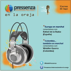 Para la guerra nada: La Paz en Colombia tan cerca y las Euromarchas en @RadioPressenza