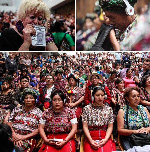 Organizaciones de derechos humanos cuestionan juicio del ex dictador de Guatemala