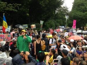 La strada, Giappone: oggi ero venuto qui così arrabbiato…