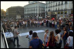 La Puerta del Sol da la bienvenida a los desplazados por la violencia