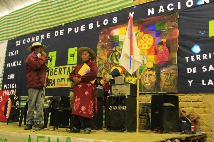 Foto: II Cumbre de Pueblos y Naciones Indígenas