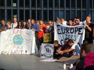 Berliner Solidarität mit Flüchtlingen und über die Motivation der Helfenden