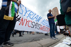 New York Says Welcome to Syrian Refugees