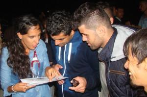 Israeli volunteers are aiding Syrian refugees in Europe
