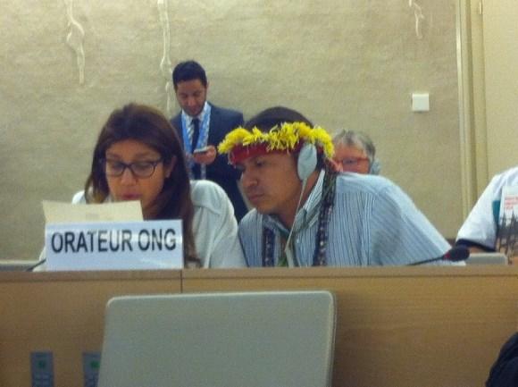 Eliseu Lopes all'ONU