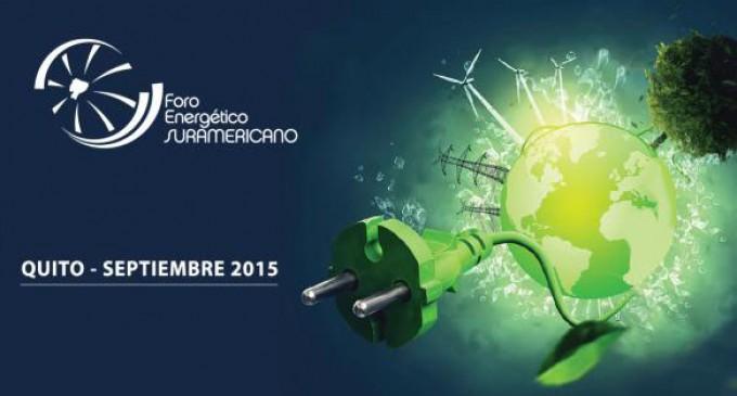 Energía renovable y cambio climático en foro de Unasur