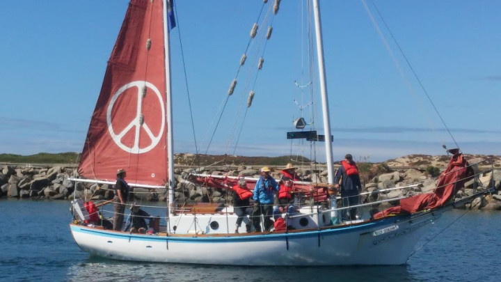 Golden Rule peace boat – sailing for a nuclear free world