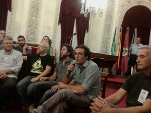 EuroMarchas2015: son recibidas en Cádiz antes de su comienzo