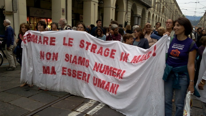 Marcia degli Scalzi Torino 3