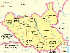 Sud Sudan: scontri e agguati dallo Stato di Unity a Lakes