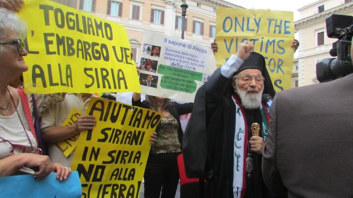 Stop sanzioni alla Siria, basta armi ai sauditi in Yemen