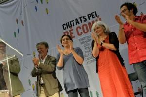 «Hemos venido para quedarnos», grito unánime de los 'alcaldes del cambio'