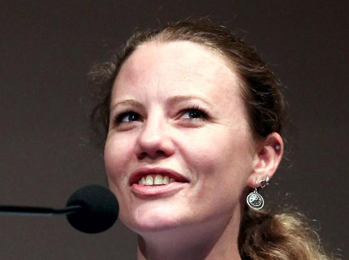 Sarah Harrison wird von der SPD mit dem Willy-Brandt-Preis ausgezeichnet