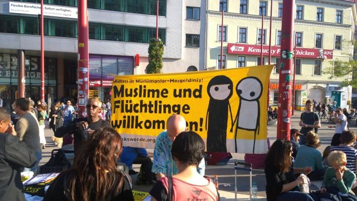 Wien unterstützt den  European Day of Action for Refugees
