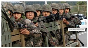 Sul-coreanos renunciam nacionalidade para evitar o exército