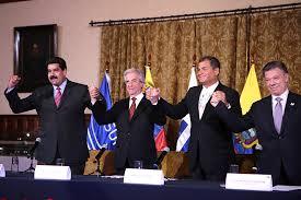 Santos y Maduro coinciden en que durante diálogo en Quito triunfó la sensatez