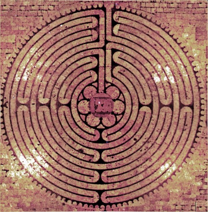 Les labyrinthes et l'accès au sacré