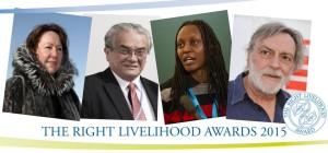 2015 'Alternative Nobels' announced